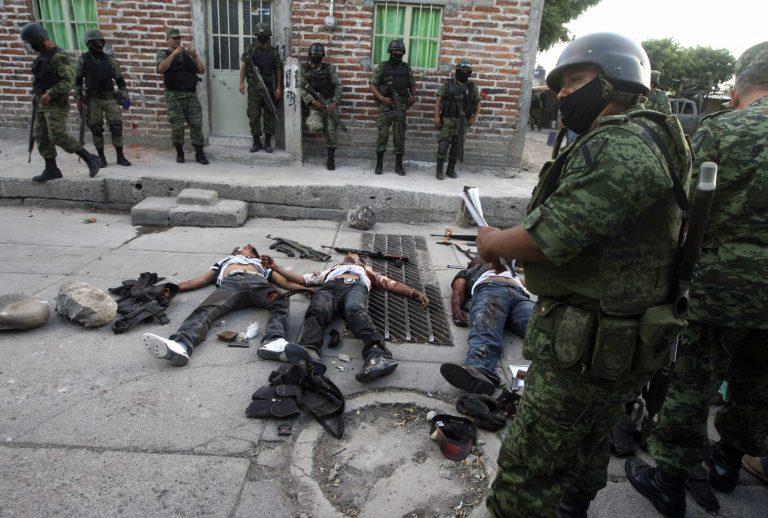Πτώματα παντού στο Μεξικό – Συνέλαβαν 117 αστυνομικούς για συνεργασία με τα καρτέλ   Newsit.gr