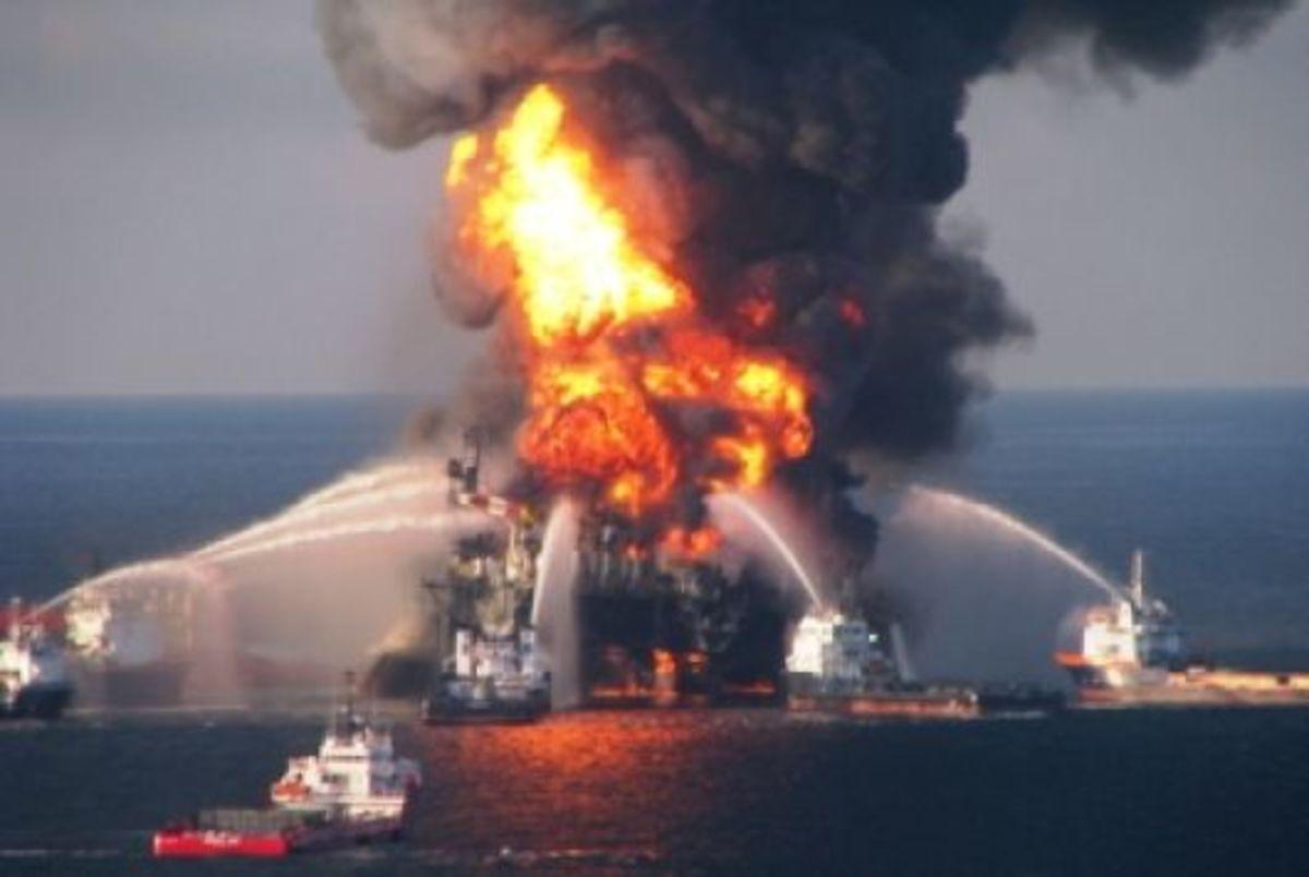 Έκρηξη κατέστρεψε μια εξέδρα άντλησης πετρελαίου στον Κόλπο του Μεξικού | Newsit.gr