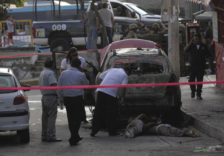Βρέθηκαν 5 κομμένα κεφάλια έξω από σχολείο στο Μεξικό | Newsit.gr