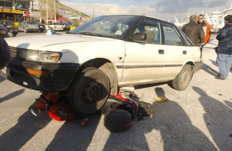 Τροχαίο με σοβαρό τραυματισμό στα Χανιά   Newsit.gr