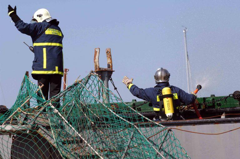 Θεσσαλονίκη: Πήρε φωτιά εν πλω… | Newsit.gr