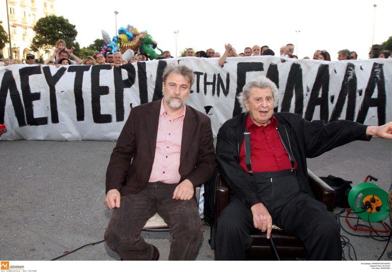 Θεσσαλονίκη: Ο Μίκης στην πλατεία Αριστοτέλους – Η απάντηση Μπουτάρη! | Newsit.gr