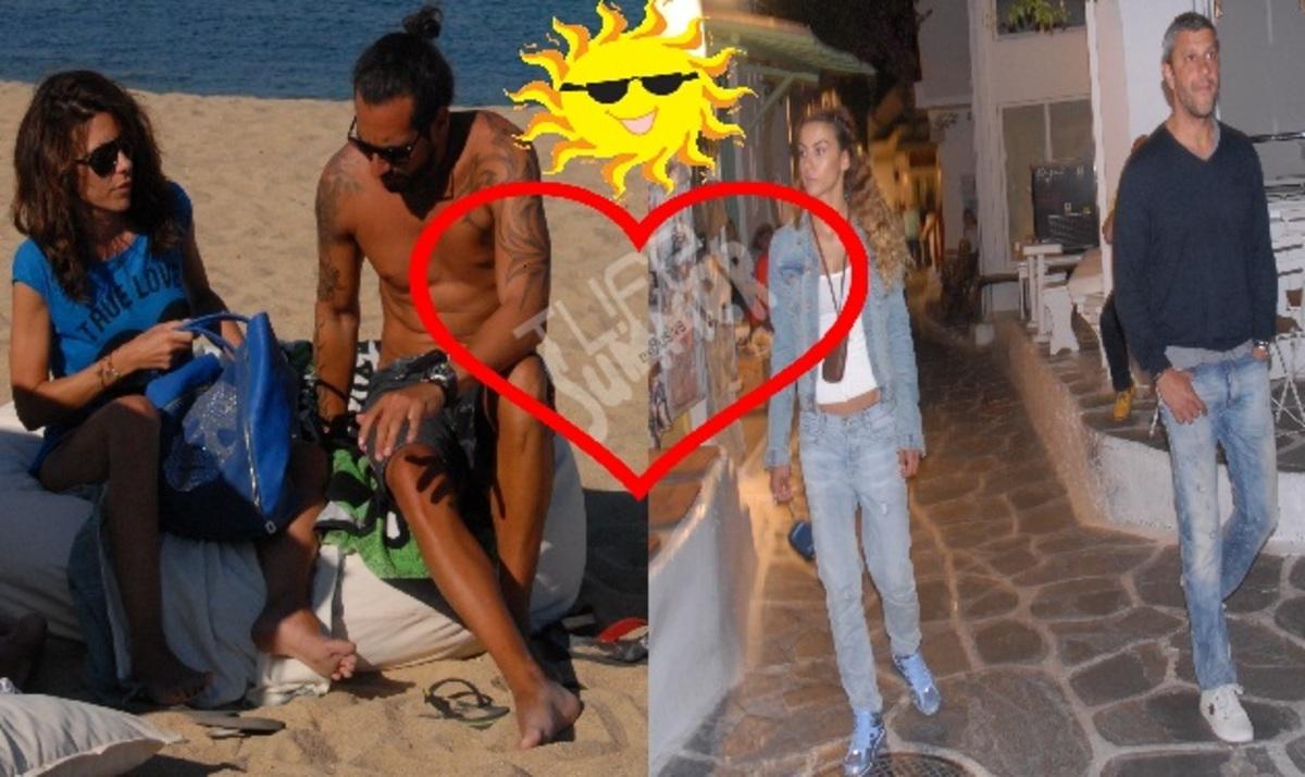 Ερωτευμένοι στη Μύκονο! Ζευγάρια απολαμβάνουν τις διακοπές τους στο νησί   Newsit.gr