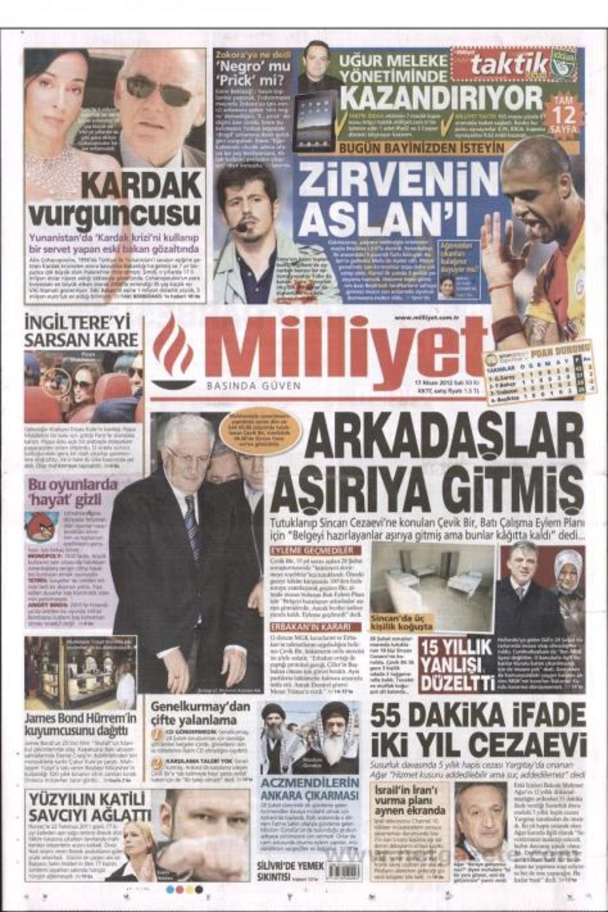 Η Μilliyet για τον Τσοχατζόπουλο: «Ο κλέφτης των Ιμίων» | Newsit.gr