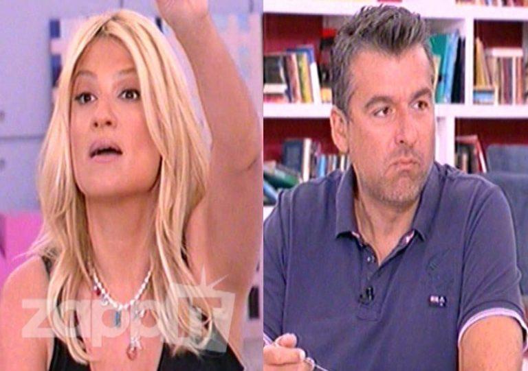 Έξαλλη η Σκορδά με τον Πετρετζίκη – Ο Λιάγκας έτρωγε μηλόπιτα   Newsit.gr