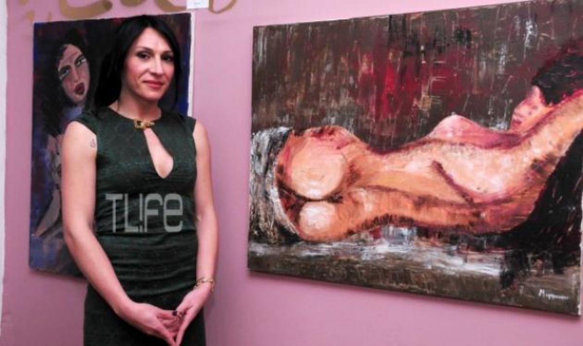 Η ηθοποιός Μίνα Ορφανού προσφέρει τους πίνακές της στα παιδιά που έχουν ανάγκη! Φωτογραφίες | Newsit.gr