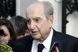 Συντετριμμένος ο Κωνσταντίνος Μητσοτάκης με τον θάνατο του Βαγγέλη Μπασιάκου