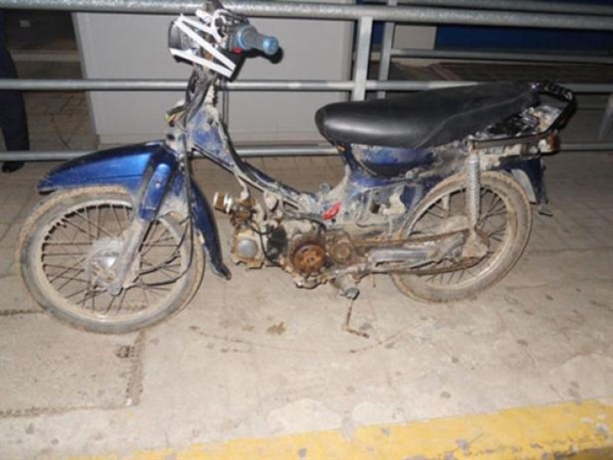 Αυλίδα: Τον πρόδωσε το… ξεψυχισμένο μηχανάκι | Newsit.gr