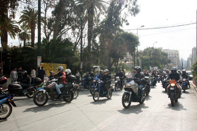 Ενταση και 15 προσαγωγές σε μηχανοκίνητη διαμαρτυρία | Newsit.gr