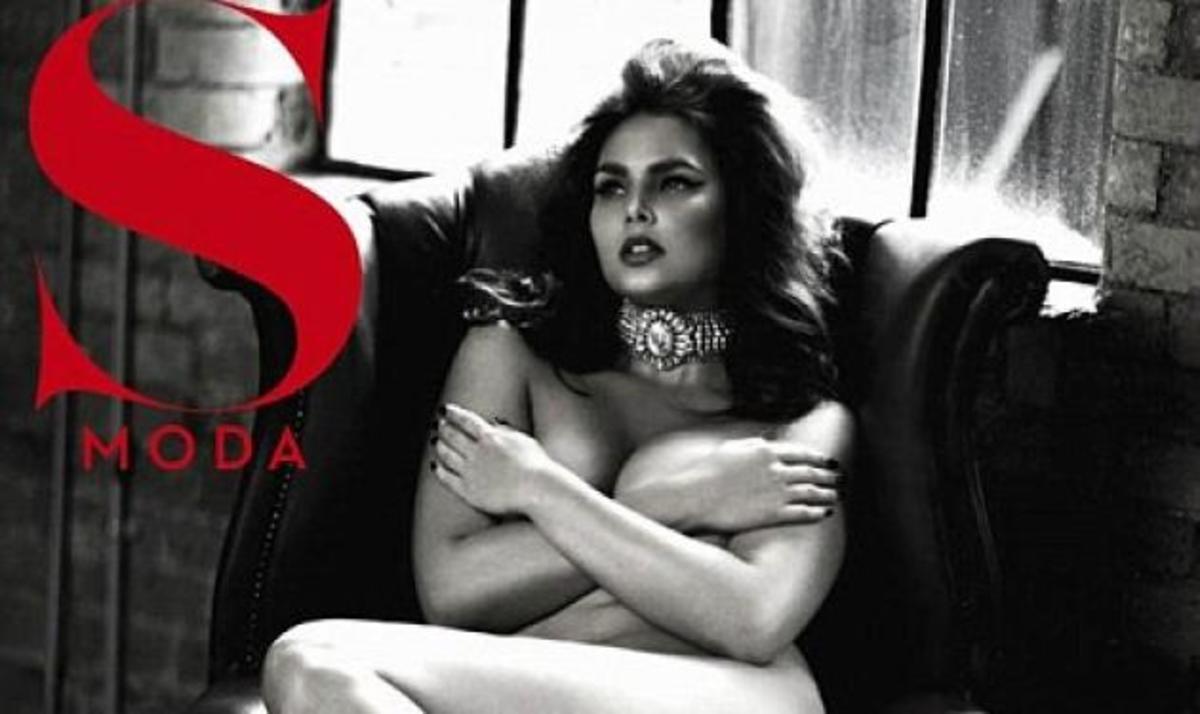 Το υπέρβαρο μονέλο Candice Huffine φωτογραφίζεται γυμνό για ισπανικό περιοδικό! | Newsit.gr
