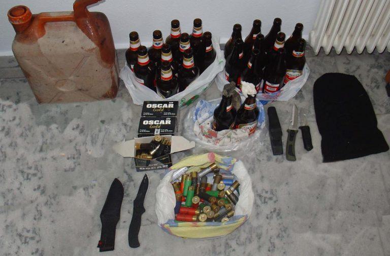 Βόλος: Έπιασαν μέλη ακροδεξιάς οργάνωσης με μολότοφ και μαχαίρια | Newsit.gr
