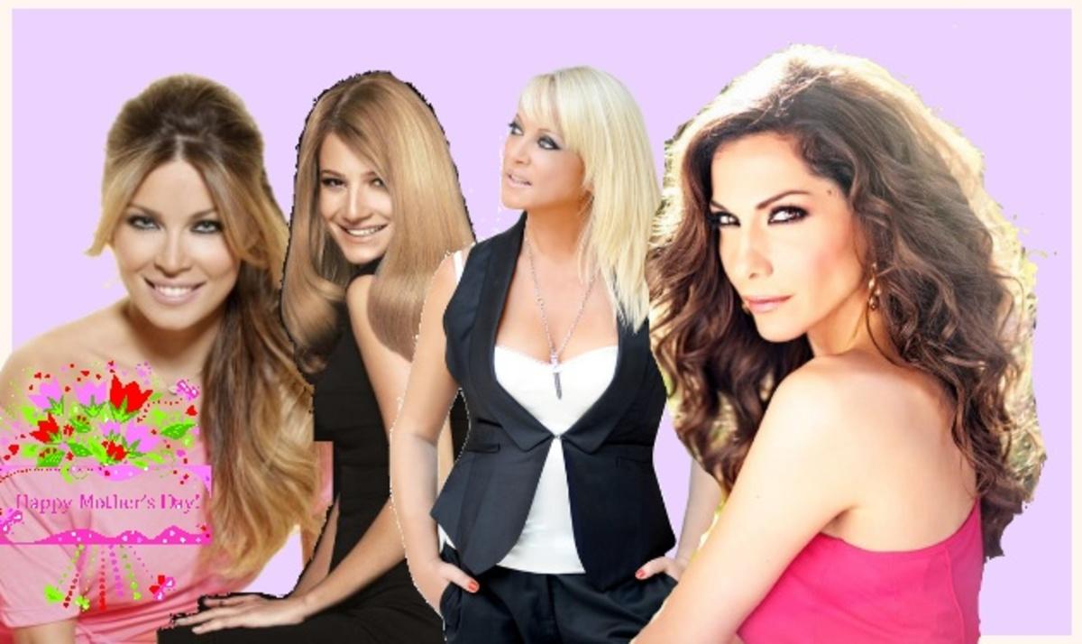 Τα τρυφερά μηνύματα των celebrities για τις μανούλες! | Newsit.gr