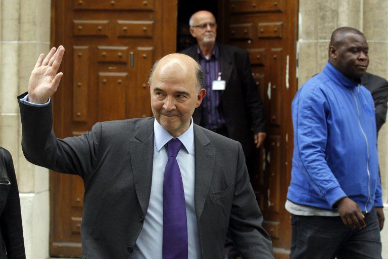 Superman ο Μοσκοβισί: «Μείωση του ελλείμματος χωρίς λιτότητα» | Newsit.gr