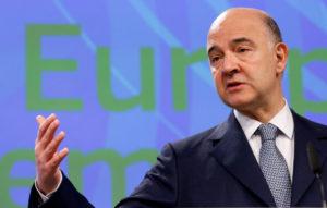 Μοσκοβισί: H Eλλάδα έχει εκπληρώσει τις προϋποθέσεις της ΕΕ για το έλλειμμα