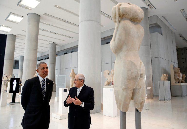 Τα δύο δώρα στον Ομπάμα στο Μουσείο της Ακρόπολης – Τι τον εντυπωσίασε | Newsit.gr