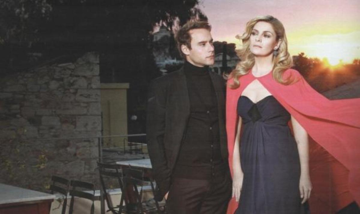 E. Μουτάφη – O. Παπαδόπουλος: Η ξεχωριστή κοινή τους φωτογράφιση! | Newsit.gr