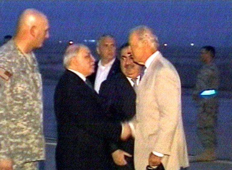 Αιφνιδιαστική επίσκεψη Μπάιντεν στο Ιράκ   Newsit.gr