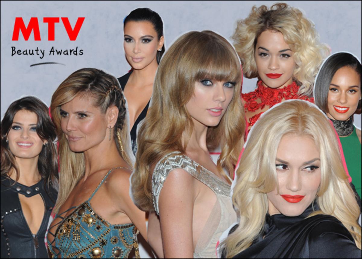 MTV Awards 2012! Τα καλύτερα looks από την πλεξίδα της H. Klum μέχρι το smokey της Kardashian!   Newsit.gr