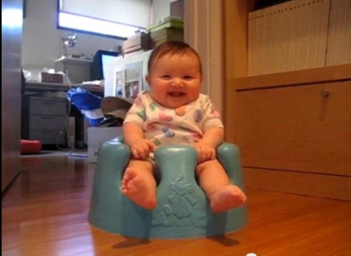 Πάνω από 30.000.000 άνθρωποι γελάνε με αυτό το βίντεο! ΔΕΙΤΕ αυτό το μωρό! | Newsit.gr