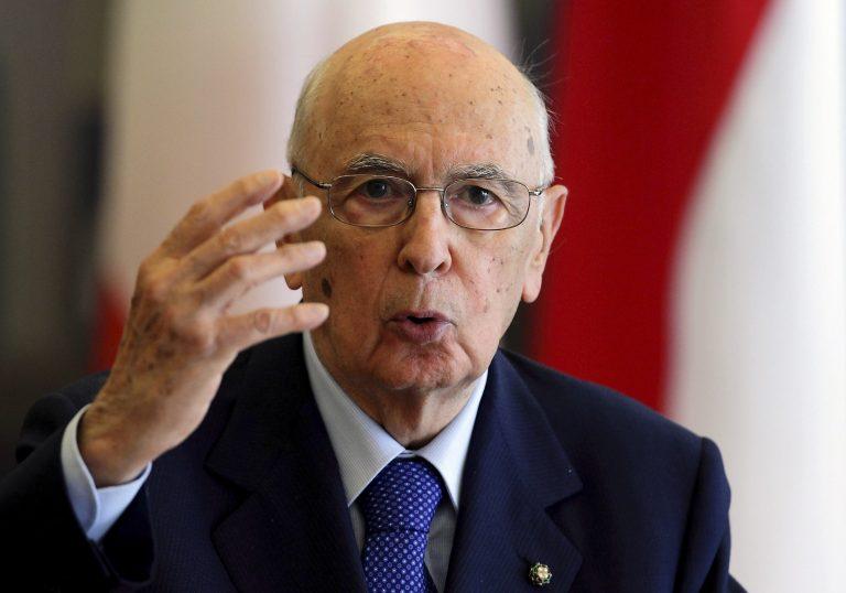 Ιταλία: Κυβέρνηση μέχρι τις 19 Μαρτίου θέλει ο Ναπολιτάνο   Newsit.gr
