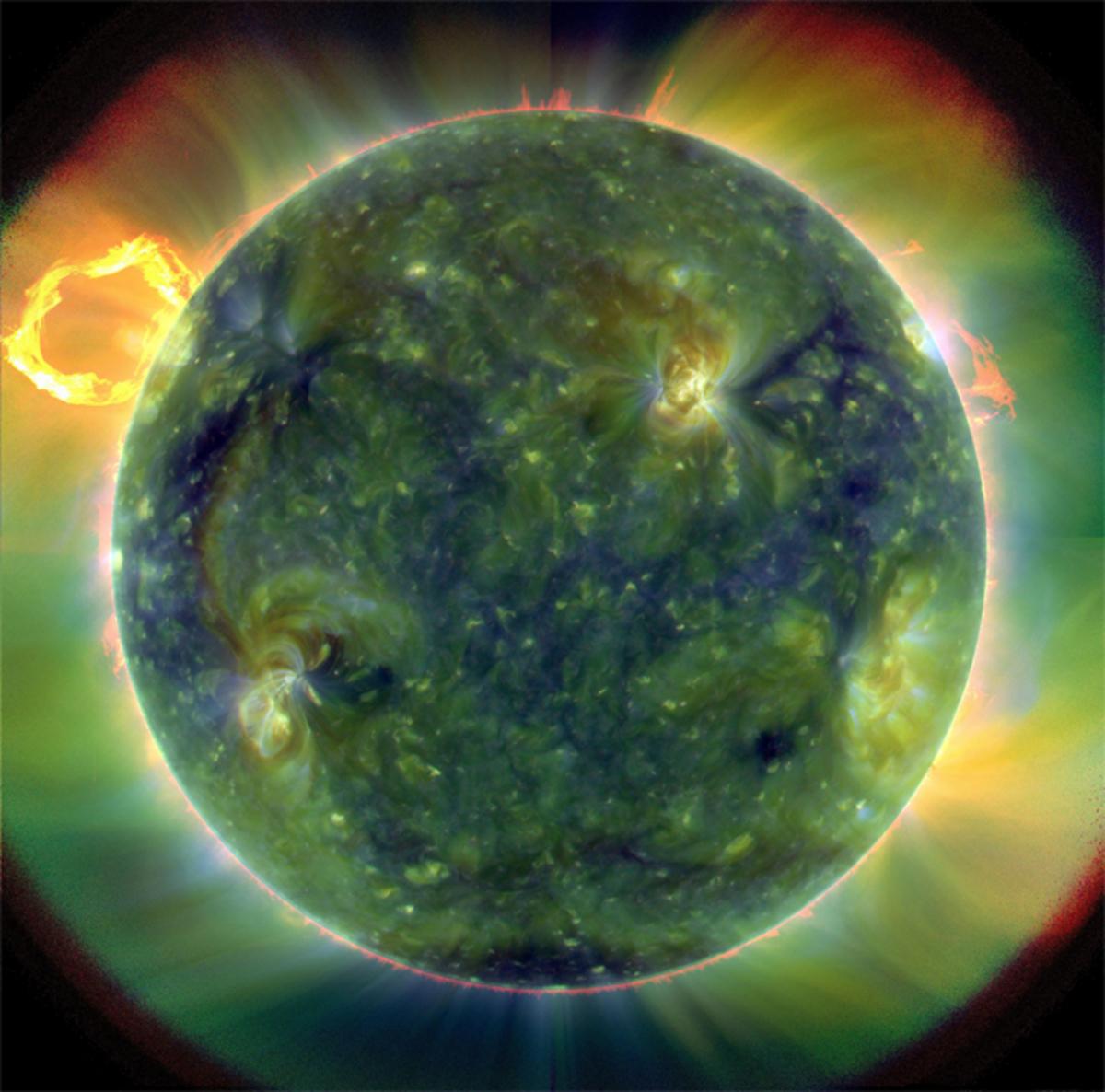Ο ήλιος όπως δεν τον έχετε ξαναδεί! | Newsit.gr