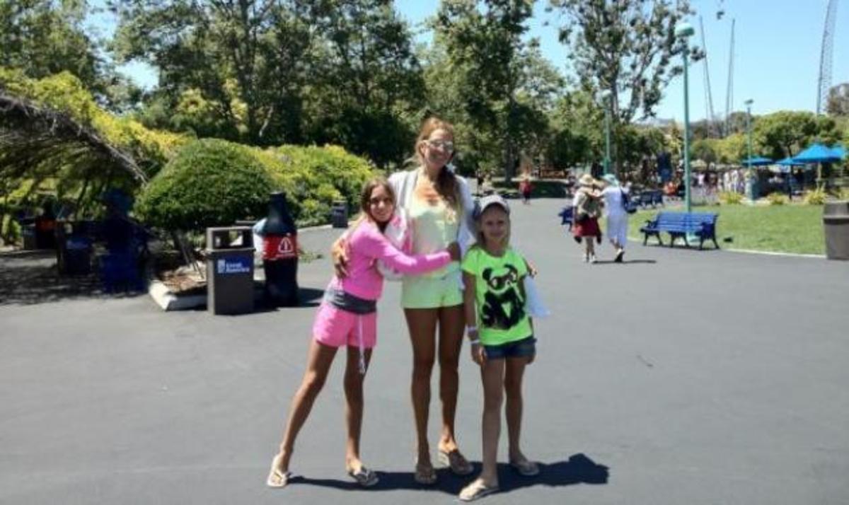 Aννίτα Nαθαναήλ: Οικογενειακό ταξίδι στην Αμερική! | Newsit.gr