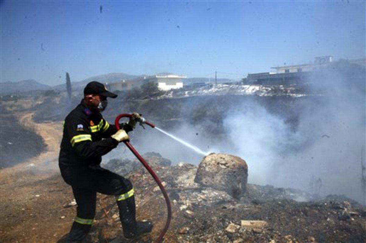 Σε ύφεση η φωτιά στο Ναύπλιο | Newsit.gr