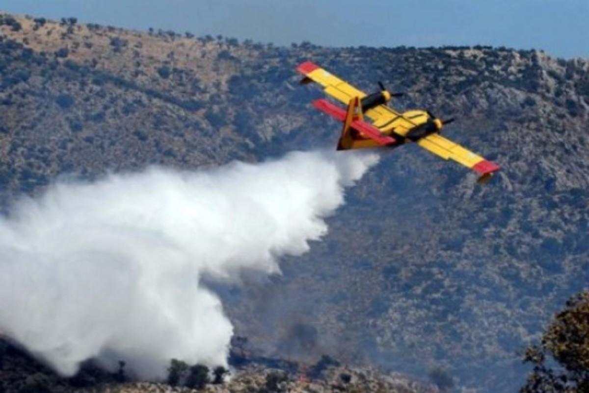 Αρκαδία: Σε εξέλιξη η φωτιά στο Μαίναλο | Newsit.gr