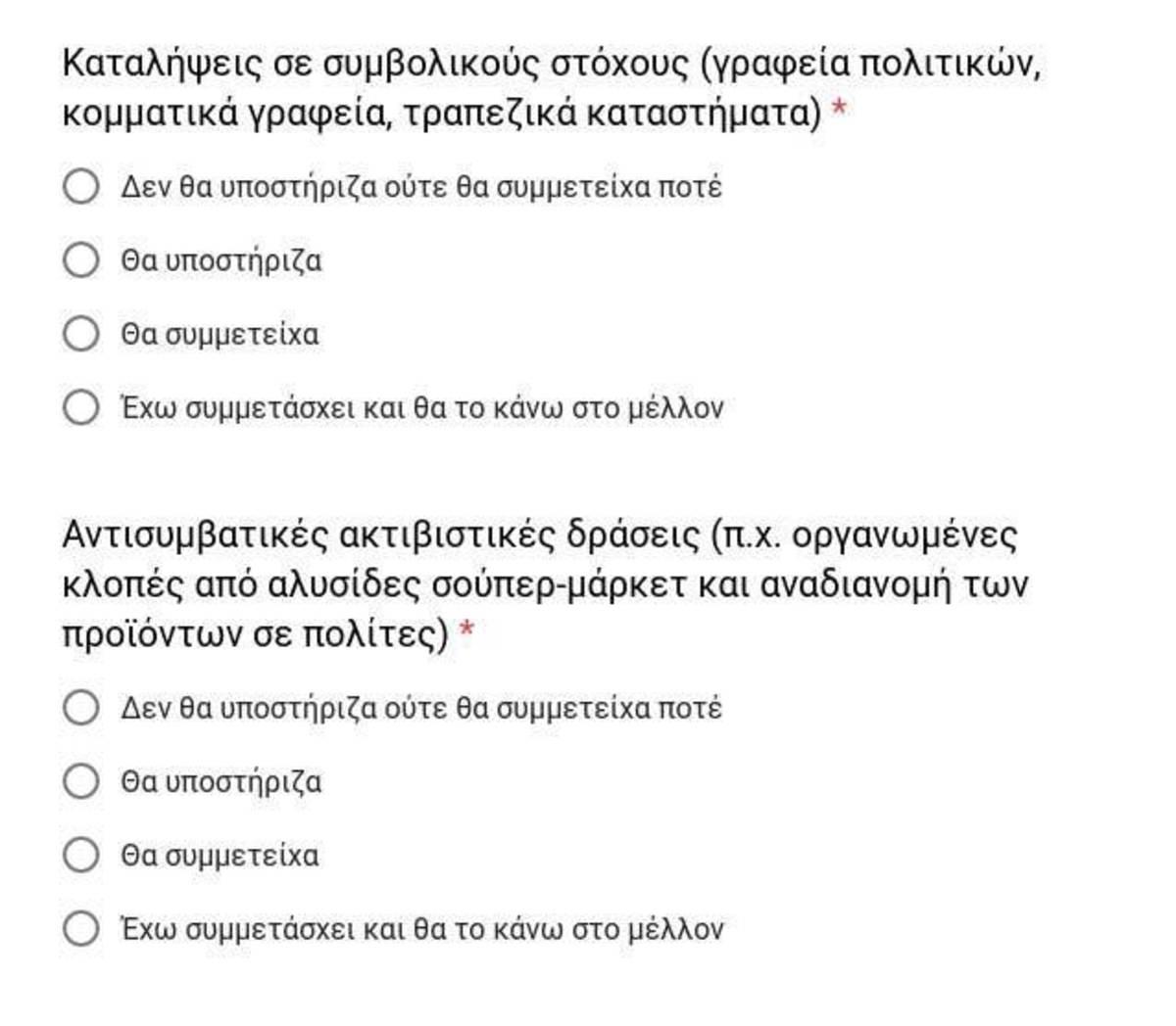 ΝΔ για ερωτηματολόγιο: «Στον ΣΥΡΙΖΑ το αδύνατο και το παράνομο γίνεται κανονικό» | Newsit.gr