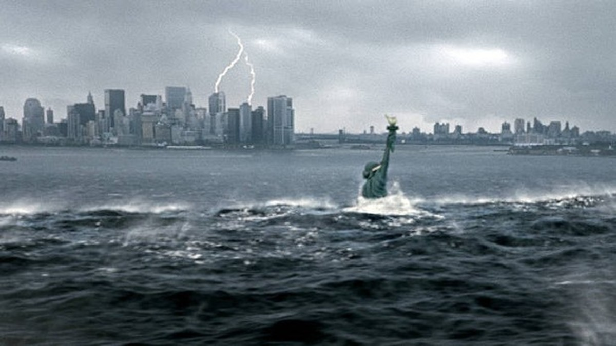 Τσουνάμι «χτύπησε» τη Νέα Υόρκη! Η πλάκα για το τέλος του κόσμου πάει… σύννεφο! | Newsit.gr