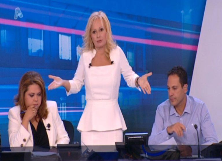 Έξαλλη στον αέρα η Αγγελική Νικολούλη! Έκλεισε άρον άρον την εκπομπή | Newsit.gr