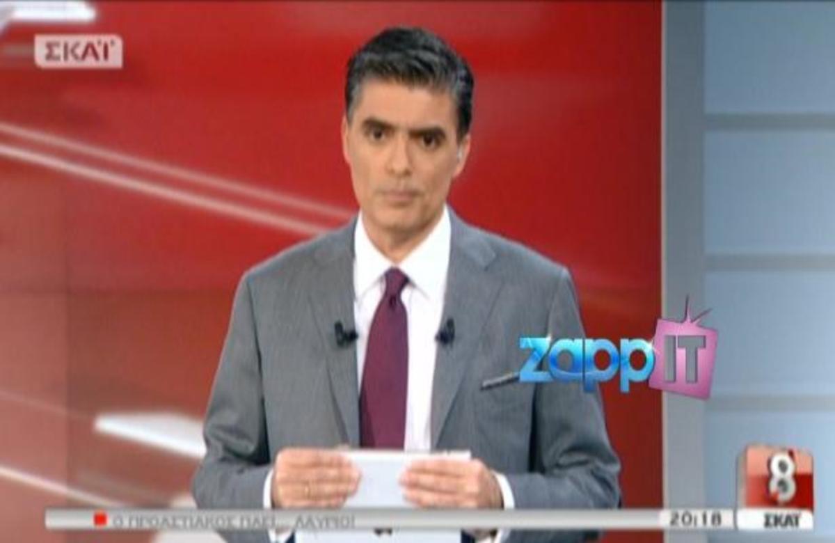 Όσα παρακολουθήσαμε στο «ΣΚΑΪ στις 8» με τον Ν. Ευαγγελάτο! | Newsit.gr
