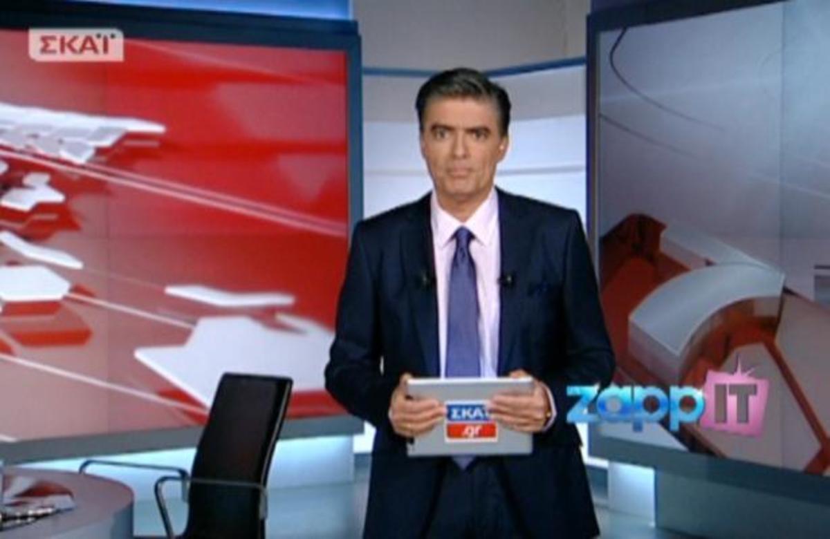 Στον ΣΚΑΙ με τον Ν. Ευαγγελάτο οι κινήσεις στρατηγικής της Χρυσής Αυγής λίγο πριν τις εκλογές | Newsit.gr