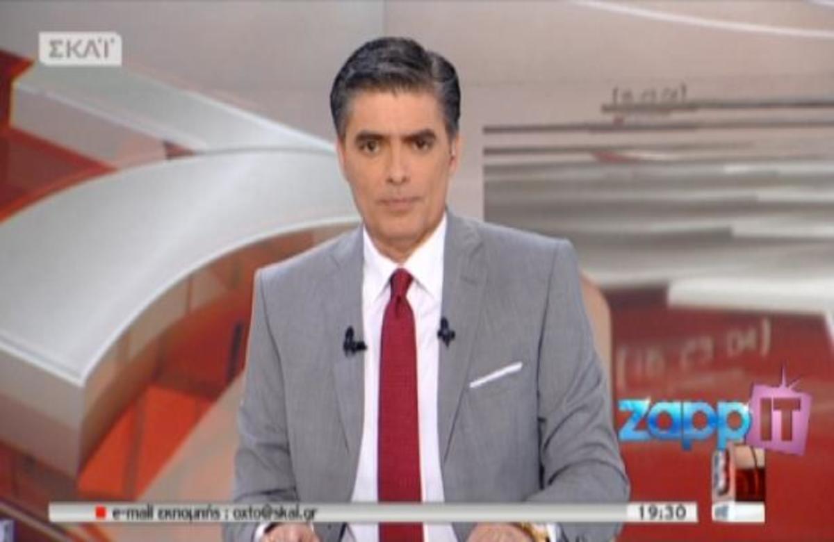 Η Ντόρα Μπακογιάννη στον ΣΚΑΙ με τον Νίκο Ευαγγελάτο | Newsit.gr