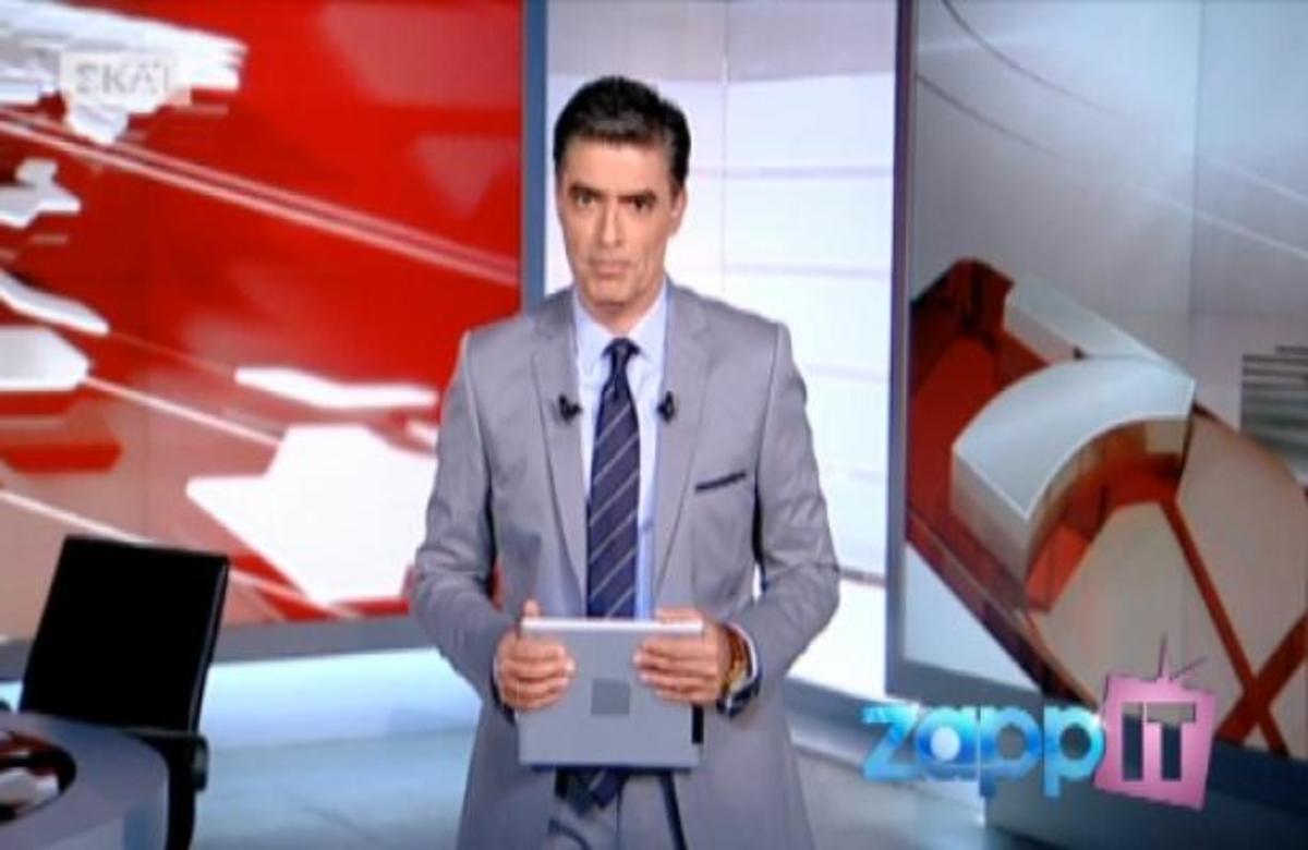 ΣΚΑΙ με τον Ν. Ευαγγελάτο – Προεκλογικό μπλόκο του κ. Βορίδη στο κέντρο λαθρομεταναστών στην Αμυγδαλέζα | Newsit.gr
