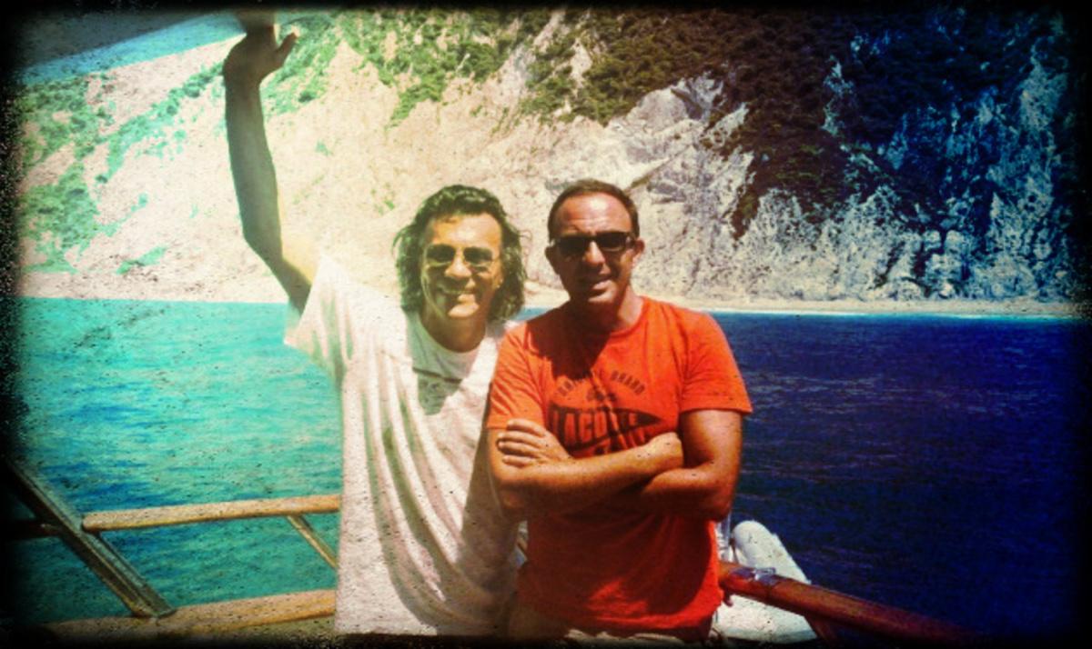 Ν. Αλιάγας: Μαζί με τον Η. Ψινάκη στο Ιόνιο! Φωτογραφίες | Newsit.gr