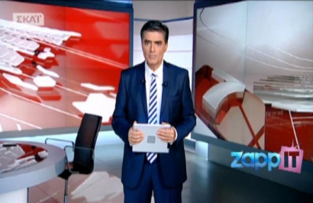 O M. Χρυσοχοΐδης στον ΣΚΑΙ με τον Ν. Ευαγγελάτο | Newsit.gr