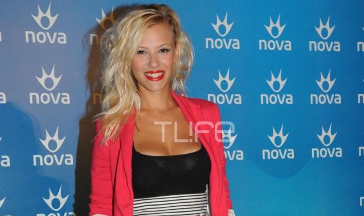 Λ. Νάργες – Τ. Σωτηροπούλου και άλλοι celebrities… στο γήπεδο της Nova!   Newsit.gr