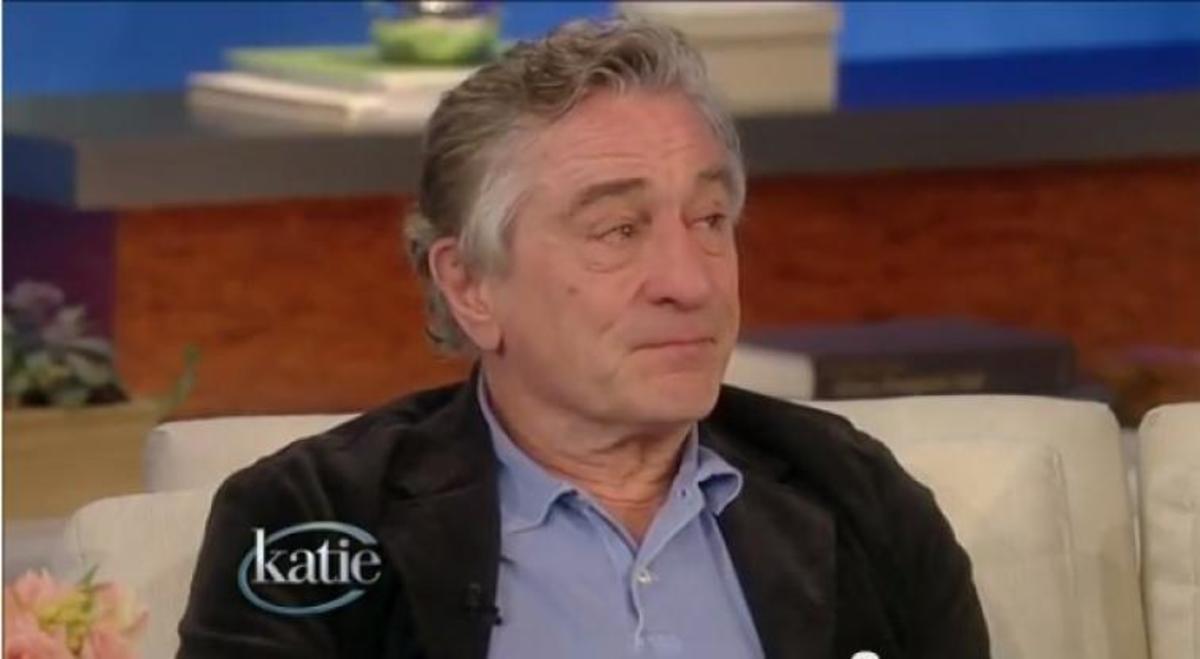 Ρόμπερτ Ντε Νίρο: Γιατί συγκινήθηκε και άρχισε να κλαίει σε ζωντανή εκπομπή… | Newsit.gr