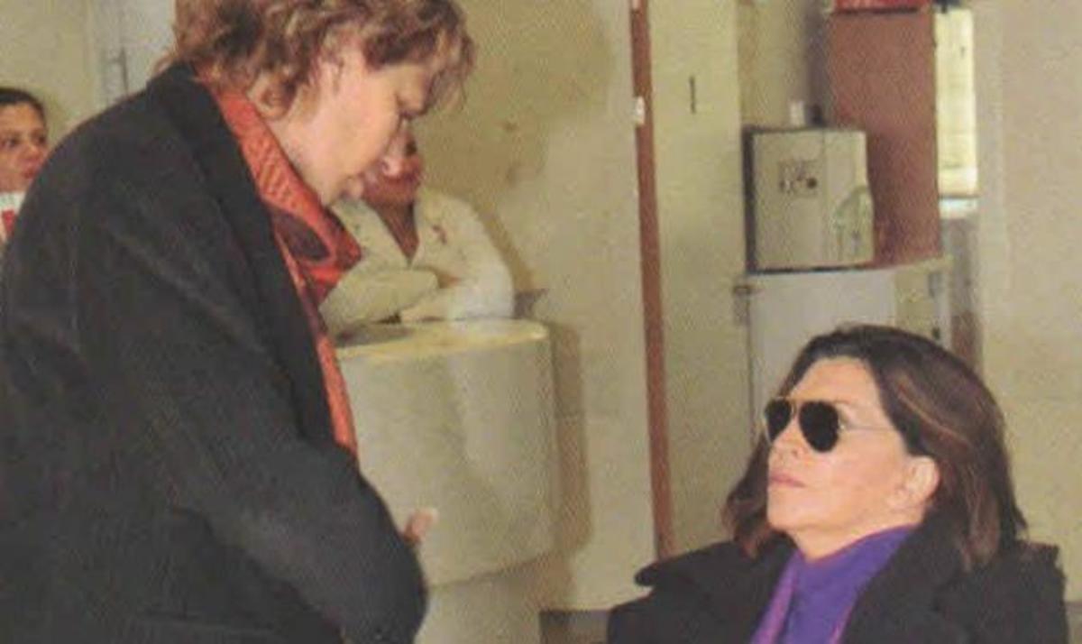 Μ. Ντενίση: Διηγείται το ατύχημά της μετά την έξοδό της από το νοσοκομείο | Newsit.gr