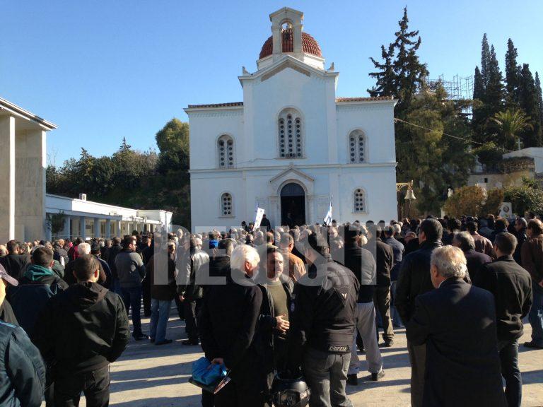 Στο αυτόφωρο ο 22χρονος που συνελήφθη στη κηδεία του Ντερτιλή | Newsit.gr