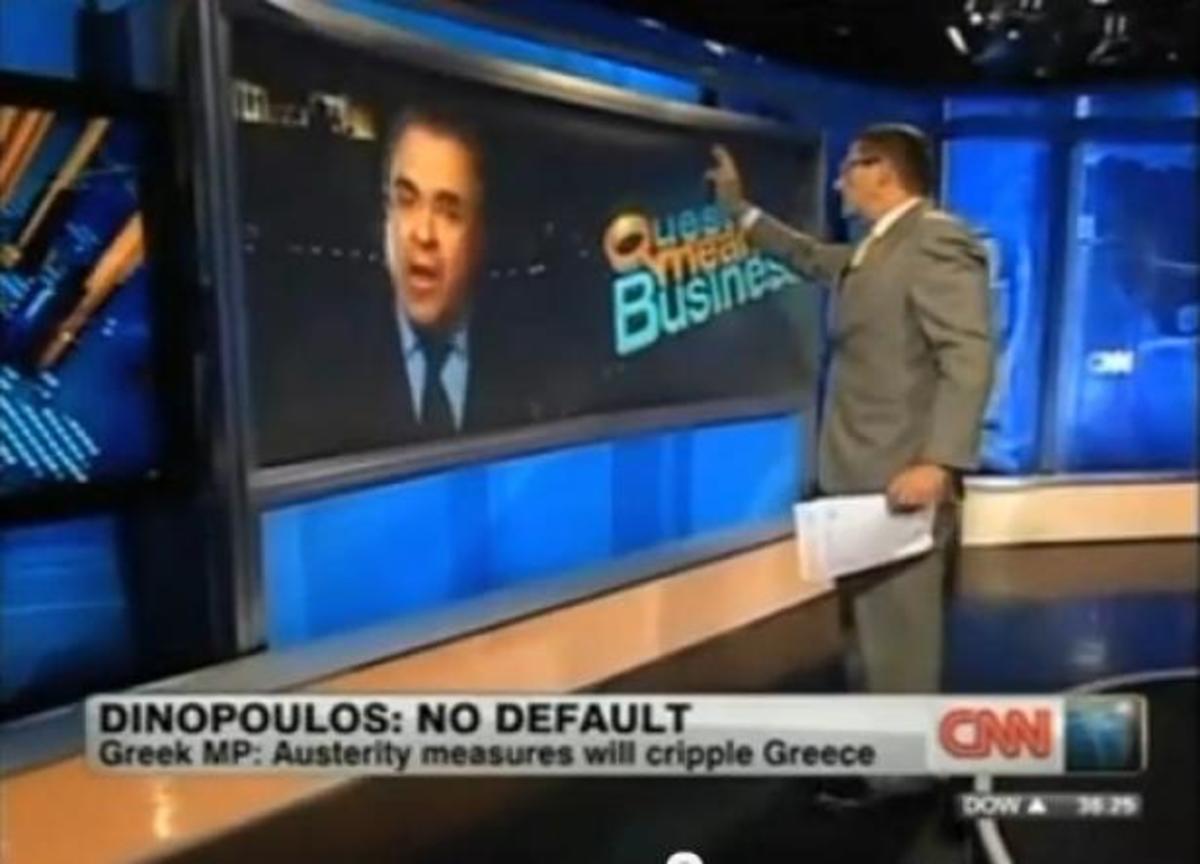 O Αργύρης Ντινόπουλος στο CNN απέναντι σε έξαλλο δημοσιογράφο! | Newsit.gr