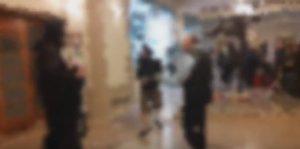 «Ντου» αντιεξουσιαστών σε ξενοδοχείο ενόψει ομιλίας Μιχαλολιάκου [vid]
