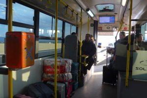Νεα επίθεση σε λεωφορεία! Έσπασαν ακυρωτικά μηχανήματα
