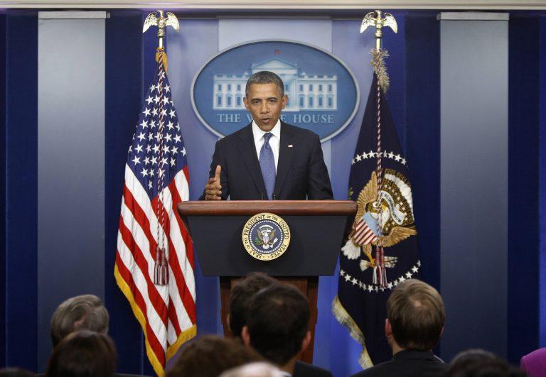 Ομπάμα: «Υπάρχει πρόοδος» ώστε οι ΗΠΑ να μην πέσουν στο δημοσιονομικό γκρεμό   Newsit.gr