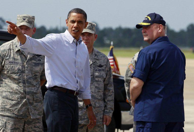 Ομπάμα: «Οικολογική 11η Σεπτεμβρίου η πετρελαιοκηλίδα» | Newsit.gr