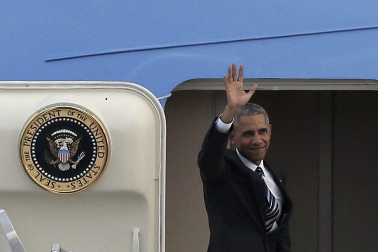 Ομπάμα στην Αθήνα – Αποχαιρέτισε την Ελλάδα και πάει στη Μέρκελ   Newsit.gr
