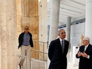 Ομπάμα: Μπαράκ στην Ακρόπολη, Mr. President στο Μουσείο! [pics, vids]