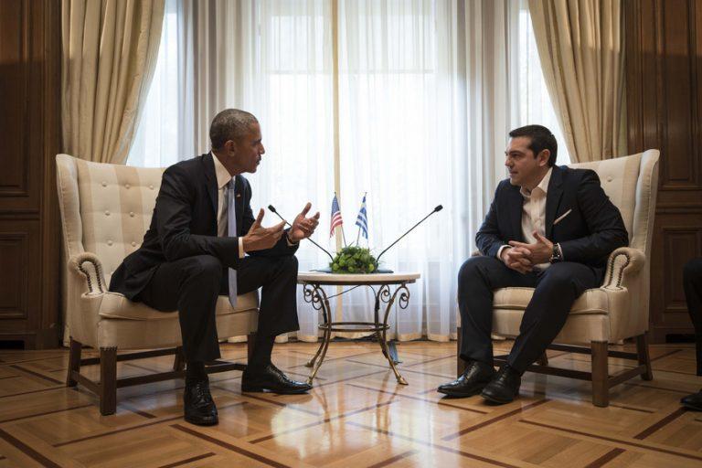 Ομπάμα σε Τσίπρα: Κλείστε τη συμφωνία πριν αναλάβει ο Τραμπ!