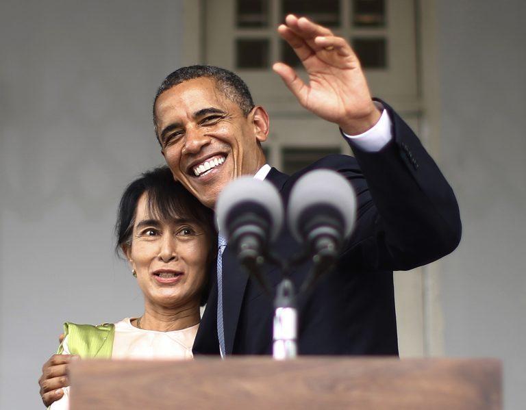 Ιστορική επίσκεψη Ομπάμα στη Μιανμάρ | Newsit.gr